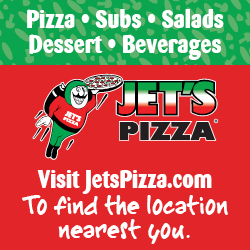 Jet's Pizza, Life is short, eat better pizza