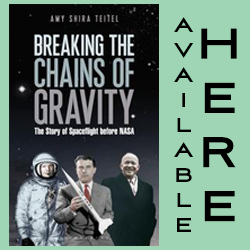 Click Here to purchase Amy's book, Breaking The Chains of Gravity
