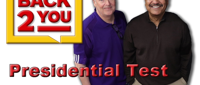 Back 2 You - The Presidential Test