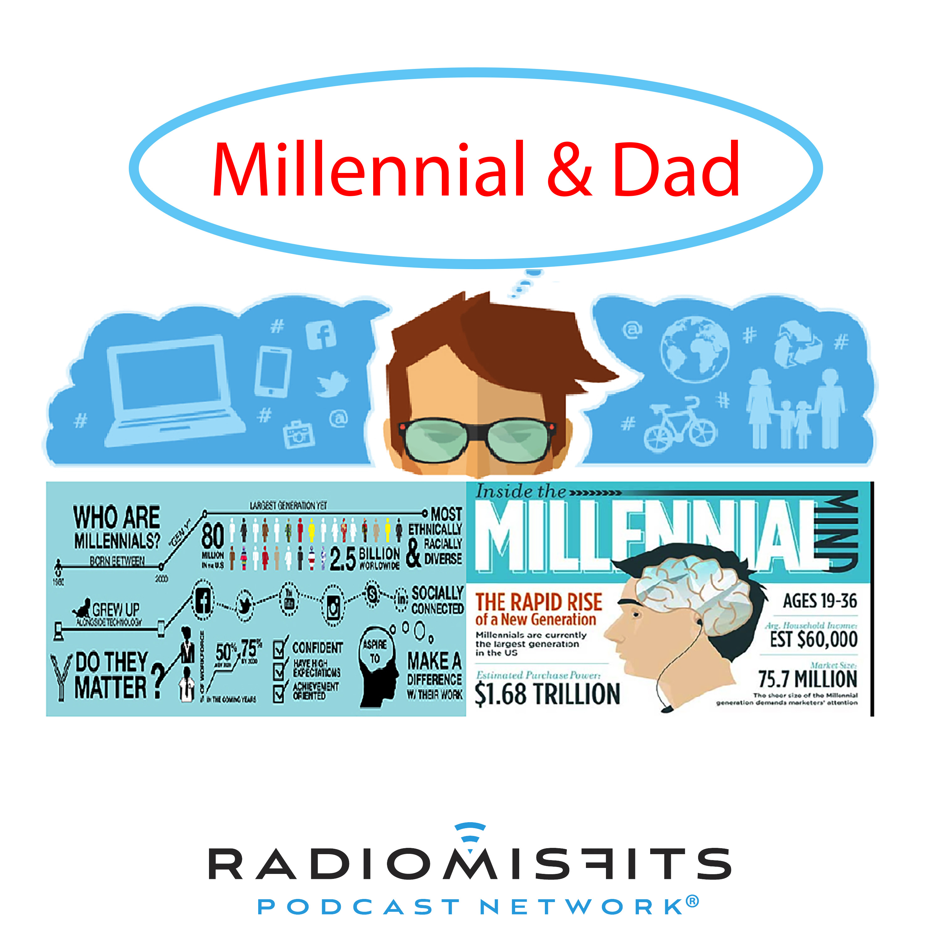 Millennial & Dad on Radio Misfits